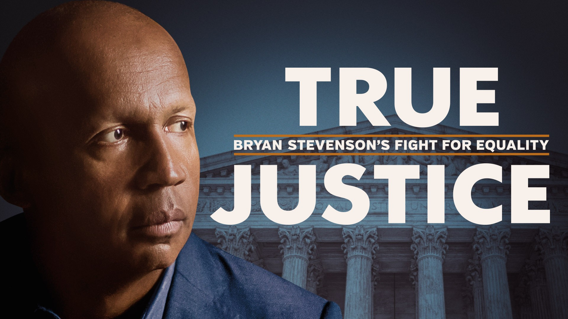 HBO Image film image of Bryan Stevenson